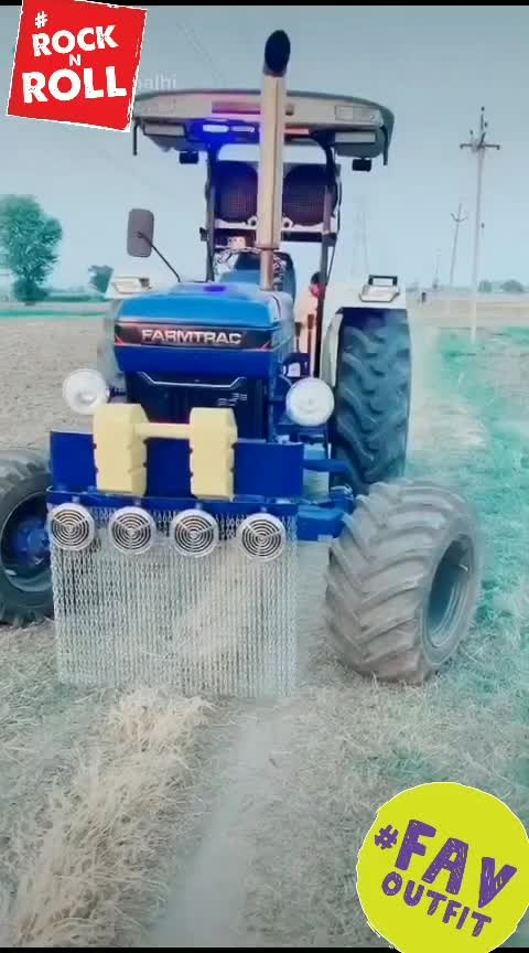 #tractor lovers  #modified tractor
