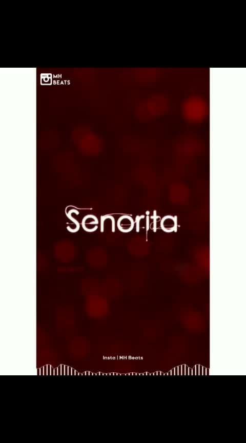 #senorita #senorita_dancechallenge #lyrics_status #roposostar