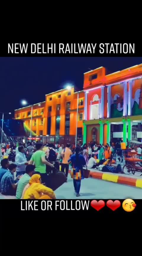 #newdelhi#railway#sation