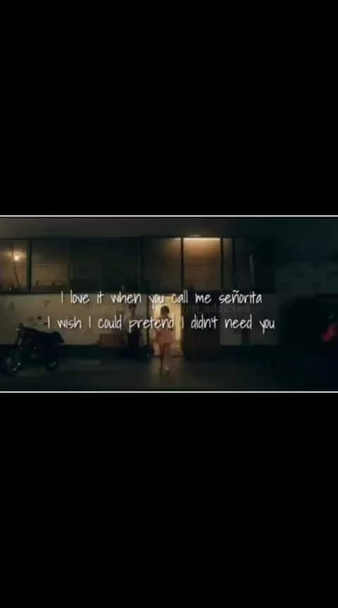 #senoritasenorita-shawn #hollywoodsong