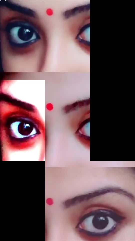 #eyeshadow #eyebrows  #eyeliner #gayathri_shan