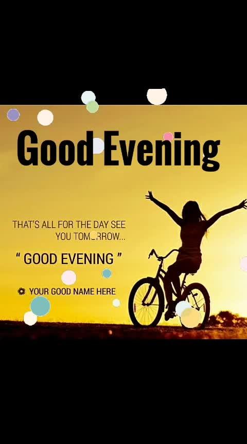 #eveningtime