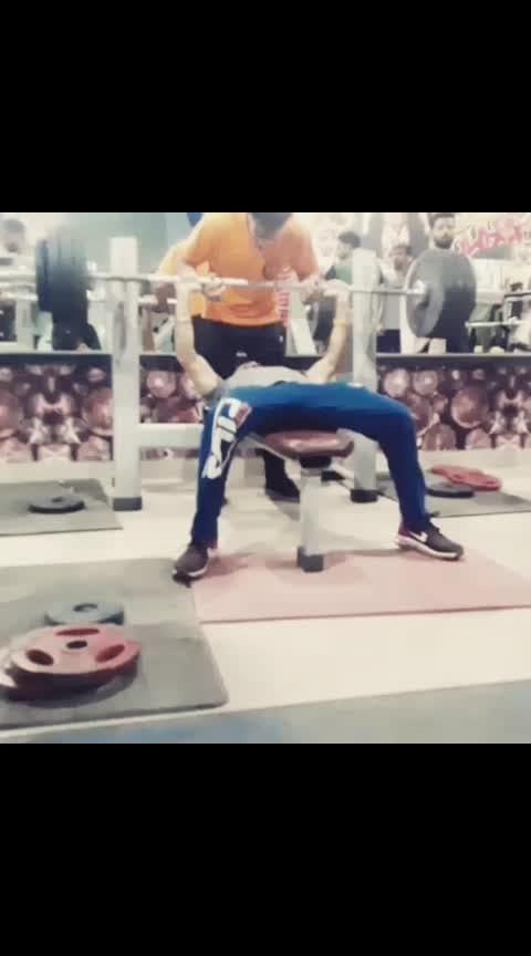 #fitness #gymtime #benchpress #strong #fit #fitnessaddict #hardworks #nevergiveup  #gymaholic #hardwork #gym #gymlife #fitness #fitnessmotivation