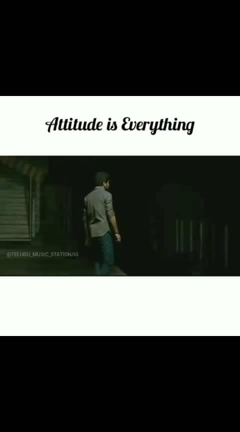 attitude, attitude, attitude