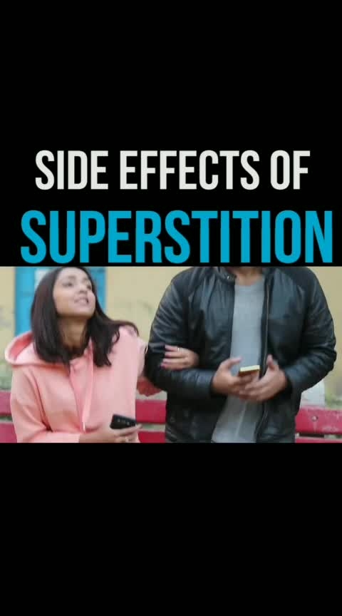 girlfriend and superstition