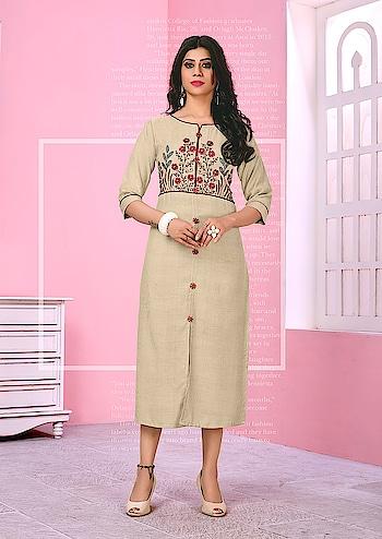 Simple And Elegant Looking Designer Readymade Kurtis ♥ Price:- 1200/- For similar visit 👉 https://bit.ly/2ISpwoR To Order Whats-app us (+91) 8097 909 000 😊 * * * * #kurtis #kurti #onlineshop #onlinekurtis #kurtisonline #dress #indowestern #ethnicwear #gowns #fashion #printed #printedtops #jacketkurtis #longkurtis #designerkurtisonline