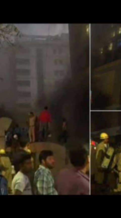 DELHI AIIMS FIRE ACCIDENT...!!!