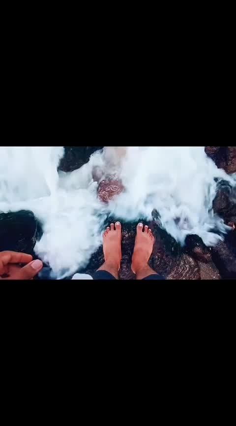 #yeradabeach #beach #beachvibes #positivevibes #telugu #telugu-roposo #telugusongs