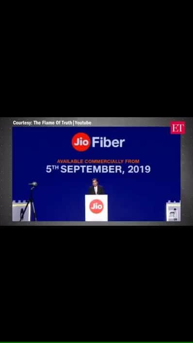 RIP all telecom companies and even theatres, one of the biggest gamechangers announced by Ambani #roposoforyoupage #roposoforyou #jiophone #jioplans #ambani