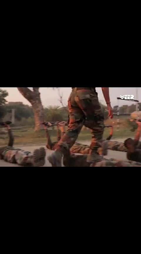Indian army training very horrible training
