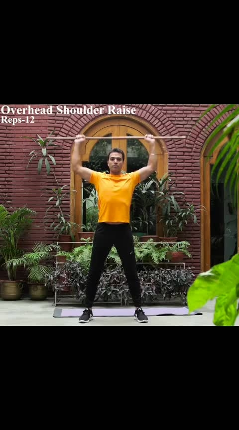 Stretch exercises for Shoulders