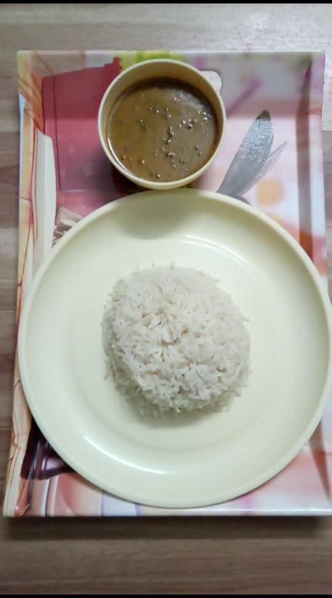 Brown Rice with Dal makhni #hungrytv #hungrytv #hungry #hungryalways  #dinnertime #newpost #newpostalert #newpostontheblog #followme #followmeonroposo