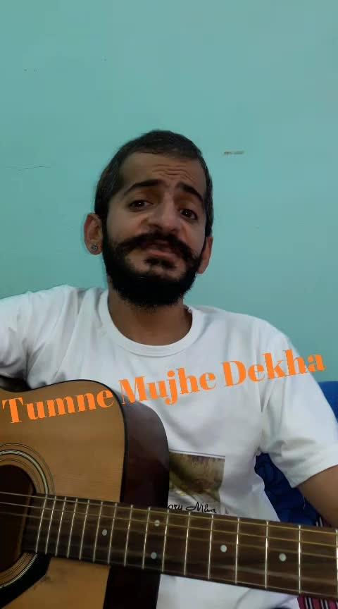 Tumne Mujhe Dekha #mohmmadrafi #old-hindisong #singingstar #singersofindia #roposostar #talenthuntroposo