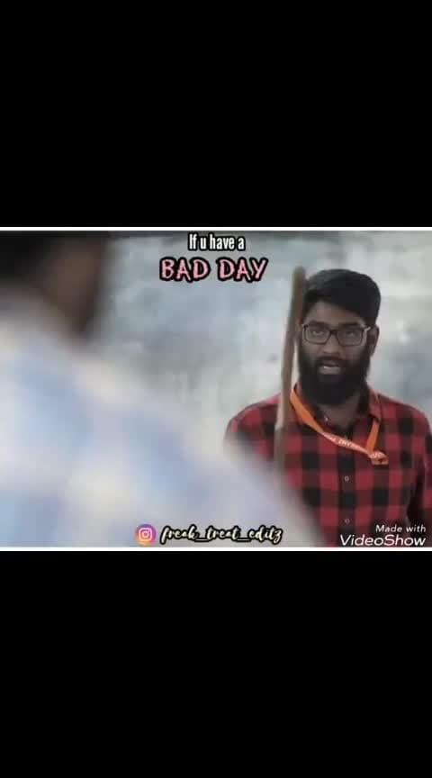 bad day bad