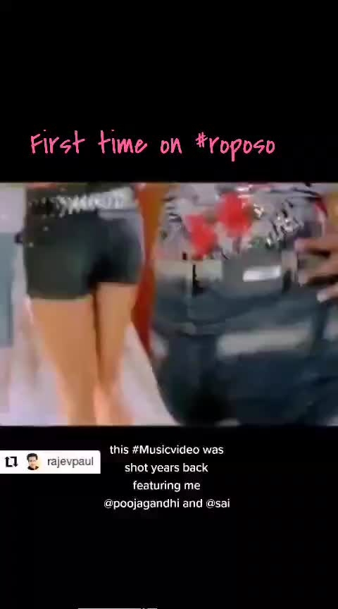 #throwbackthursday #thursdaymorning #roposostar #filmistaanchannel #filmistaan #roposofirst #first-time #musicvideo #mysong #rajevpaul #biggboss #mumbai #remix-song