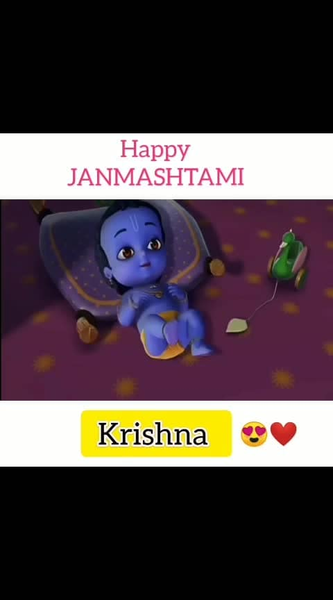#Happy_Janmashtami - Krishna 🤗😍❤️