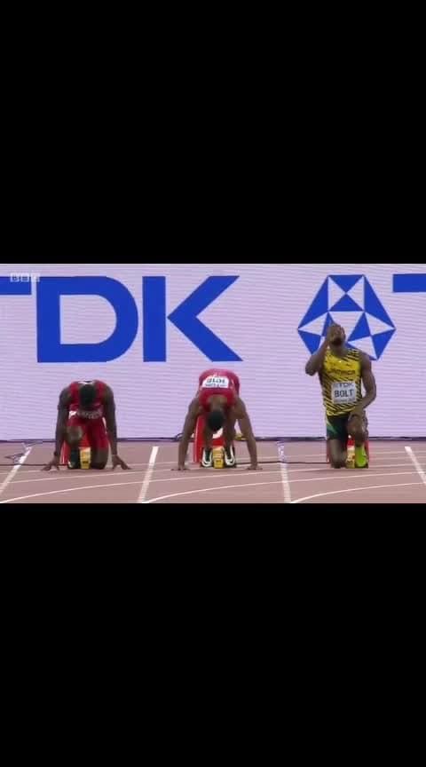 Bolt 100m sprint