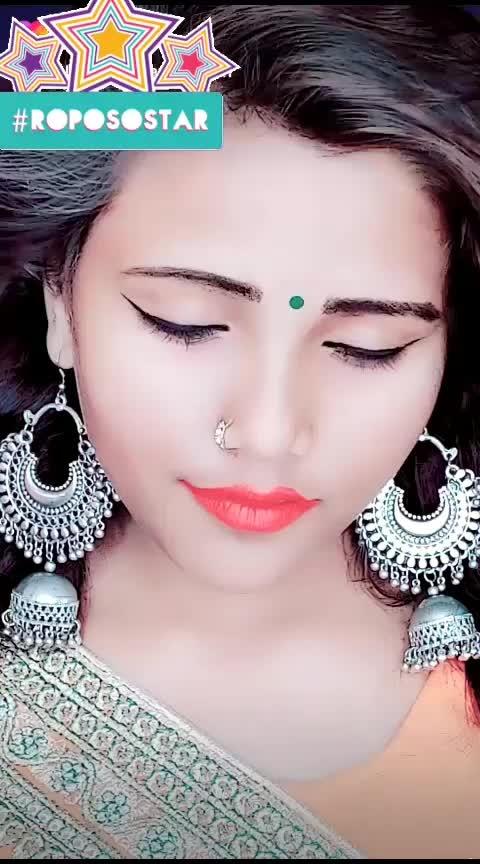 tao ba tao ba ye aakhen #roposostarschennal #weeklyhighlights #romanticmoment #fashionjewellery #fashionistas #hindisong_first_vedio #roposostars_by_first_video_stylish_star_prabha_ #fashionbloggersofindia #fashionbloggerstyle #roposostarschannell