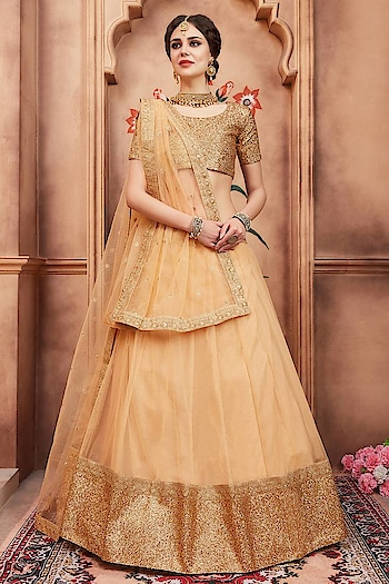 Looking to buy beige color lehengas at least cost with fastest shipping world wide? Visit a website Mirraw : https://www.mirraw.com/store/lehengas/colour-beige