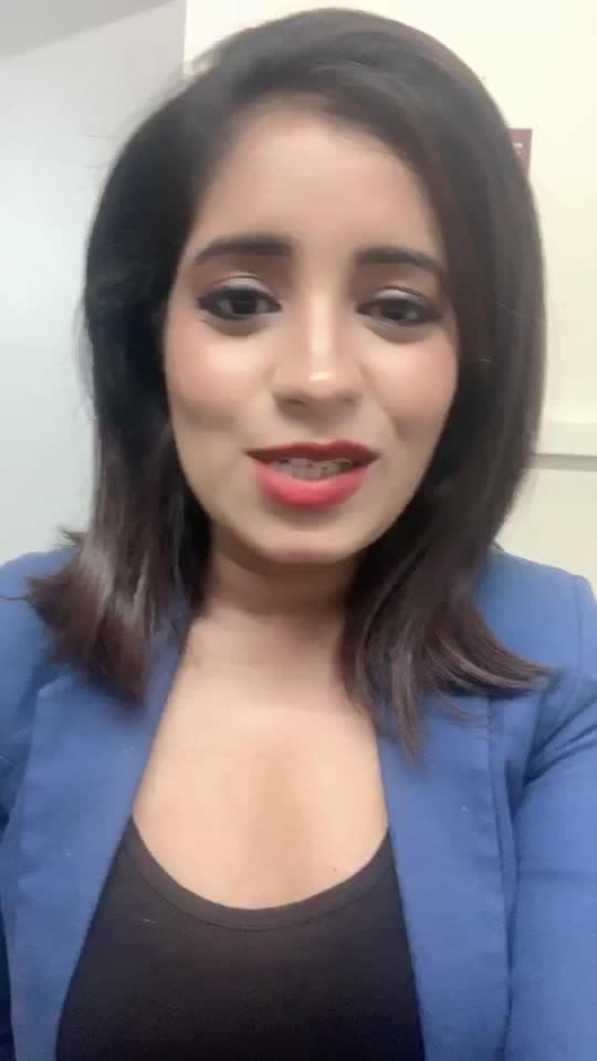#roposo #star #rising #happysoul #news #anchor #anchoring #anchorrajshri #rajshrithawait #googlegirl