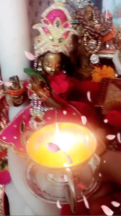 Mere ladoo Gopal ka Birthday 🌸 #happyjanmashtami #radheradhe #krishnalove  #shilpajoshi #shilpajoshiofficial