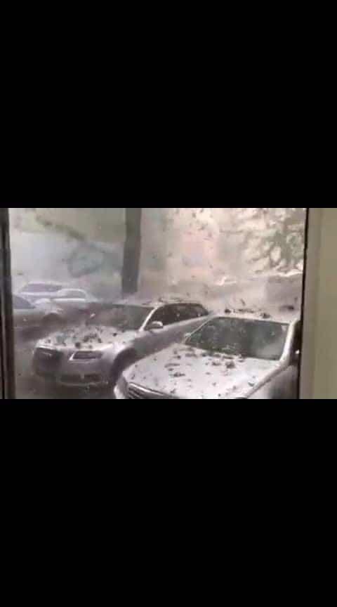 Stones Rain in Romania...