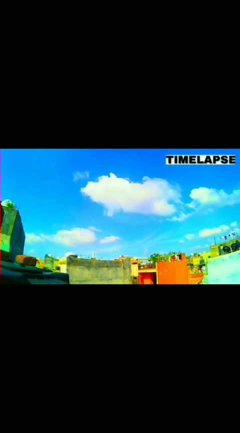 #timelapse #timelapsevideo #sky #bluesky #clouds #nature #run