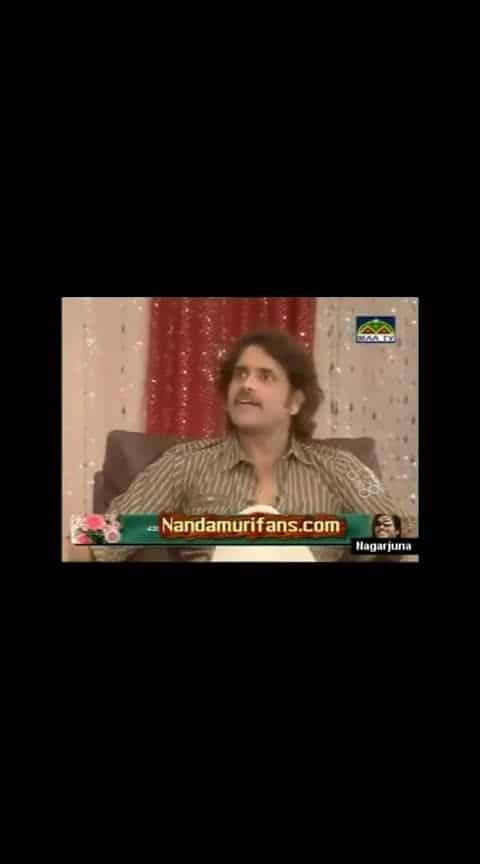 Nagarjuna about ntr all area about ntr