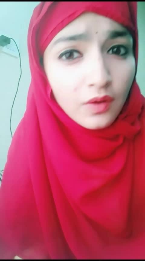 kae ki apni!🙄 #apnatimeayega #muslimwomen #muslimahwear #muslimgirl #roposo-beats #eidmubarak2019