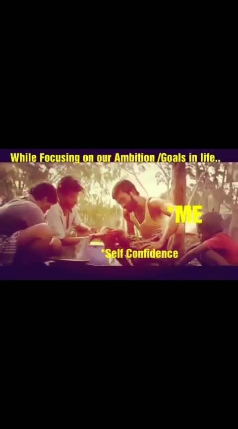 #selfconfidence#ambition