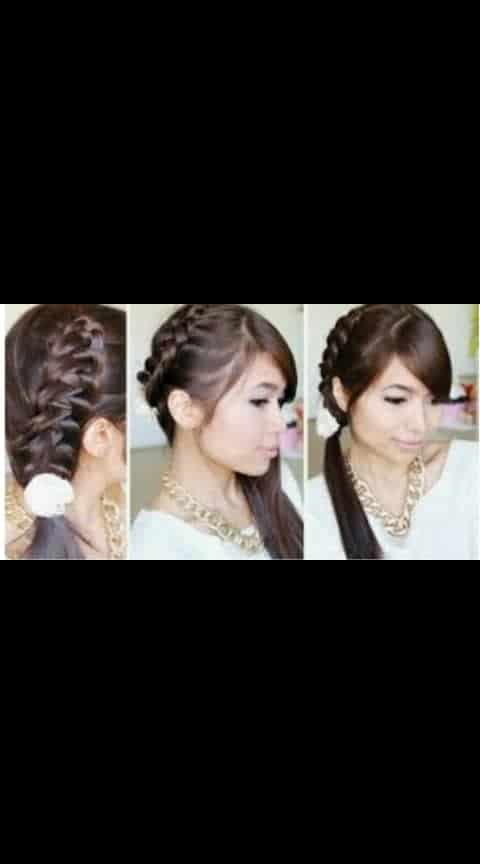 hairstyle for salwar suits