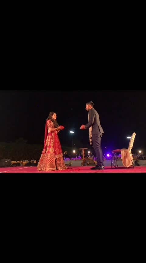 Lovely Couple😘😘💖💖💖#roposobeauty #bridegroom #marriagemoments #foryoufollowers