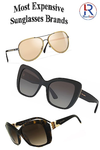 Most Expensive Sunglasses Brands  These brands cost a bomb but then they have a name alongside to kinda-justify their prices and the look that one can't get anywhere else.  Check Out These Brands Here:  Source: https://rapidleaks.com/lifestyle/expensive-sunglasses-brands/  #sunglasses #sunglassesfashion #lifestyle #chanel  #diorsunglasses