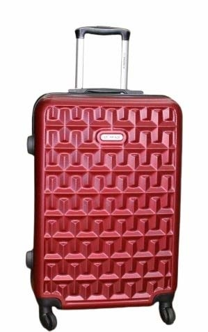 Princeware Red Trolley Luggage Suitcase Trolley/Travel/Tourist Bag  The Princeware hardsided carry-on luggage makes travelling much easier. It is designed specifically to add convenience for travellers who pack light and are always on the move. This carry-on can roll with you without tipping on almost any kind of surface from concrete to tiles to cobblestone.It is a hardsided luggage bag with a solid frame that offers proper protection to the contents inside. It has a lustrous finish and is highly resilient to impacts during bumps, falls or drops.  https://amzn.to/2zpSdnh