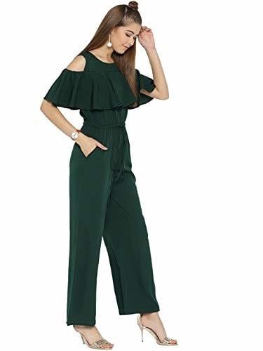 cottinfab #Crepe #Jumpsuit #Dress @ 997. Buy Now at http://bit.ly/328Djhx