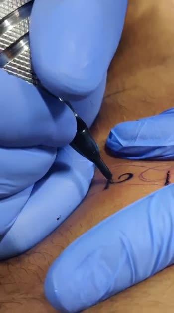 First tattoo😍 सुकून ❤️  #tattoo #roposostars #risingstars #risingstarschannel #ropopo_beats_channel_ #roposostarchannel #tattooartist #tattooart #art #sukoon #peace #inkedup #inked