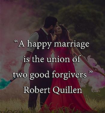 """A happy marriage is the union of two good forgivers"" Robert Quillen  #weddingtips #weddingplanning #weddingideas #weddinginspiration #lovequotes #loveinspiration #lovegoals #weddinggoals #lovelife #lovetips #lovecouple"