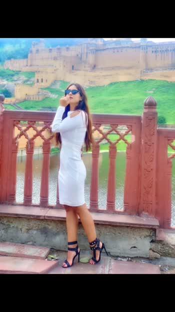Jaipur City Darshan ♥️♥️ Amer Fort 🤩🤩 : Outfit @houseofbossy_ ♥️😍 guys must check out their new page for amazing collection 💕💕 : #amerfort #amerfortjaipur #heritage #jaipurtourism #whiteoutfit #jaipur #jaipurdiaries #whiteonwhite #marriott #jwmarriottjaipur #luxury #luxurylifestyle #jaipurtravelwithnehamalik #whitedress #fashion #fashionblogger #fashioninspiration #pollywood #punjabi #punjabiactress #nehamalik #model #actor #blogger #instantpollywood #instalike