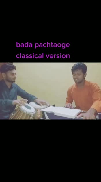 #badapachtaoge #classical_version #pachtaoge #emotinal-song #bada_pachtaoge #emotionalsong