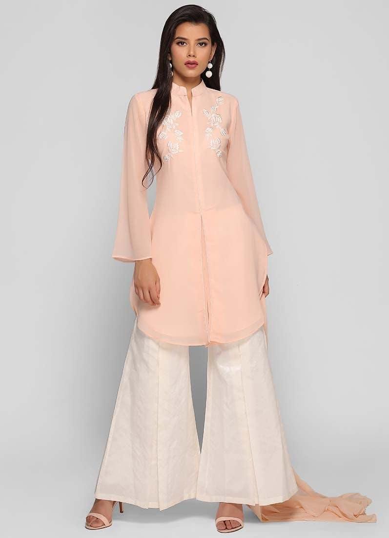 Diya Online - Box Pleat Bell Dress  Link: https://www.diyaonline.com/box-pleat-bell-dress.html  #dressesonline #diyaonline #womenfashion #suit #saree #roposodiaries