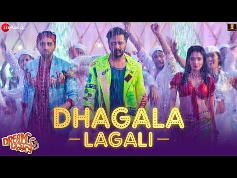 Dhagala Lagali - Dream Girl | Riteish D, Ayushmann Khurrana&Nushrat|Jyotica, Mika & Meet Bros|Kumaar