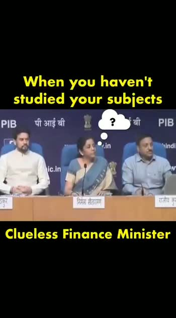 #politicalnews #nirmalasitharaman #comedyvideo