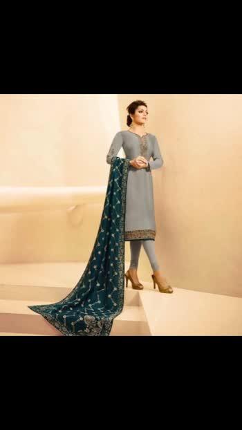 Drashti Dhami Featured Grey Straight Suit  Product code - FCSS2141 Available at www.fashionclozet.com  Watsapp - +91 9930777376 Email -  info@fashionclozet.com Or DM for enquiries  #indianwedding #desiwedding #bride #desibride #indianbride #bridesmaids #bridesmaid #lehenga #bridallehenga #lehengacholi #weddingfashion #bollywood #indianfashion #reception #bridesmaidsdress #bridalfashion #styleguide #weddingdress #jenniferwinget #bridalwear #weddingwear #desicouture #pakistanistyle #pakistaniwear #asianwear #pakistanibride #embroidery #pakistani #threadwork #southasianbride