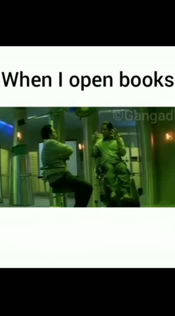 When I opened books