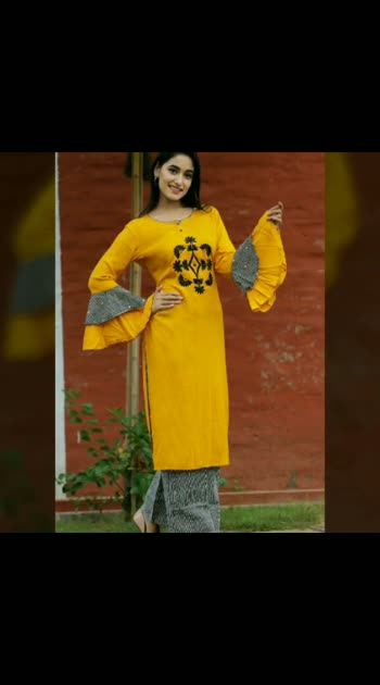 Entrancing Casual & Party Wear Embroidered Printed Cotton Kurta/Kurti Palazzo Sets...👆 . Any Inquiries Please DM Or Whatsapp Me By This Link. 👉 https://goo.gl/vF9xF5 . Shop Our New Arrivals👇 www.pushpakcollection.com . Pushpak Collection 50, Janki Nagar Main,  Near Jain Sthanak, Navlakha,  Indore (452001) 📞 +919425052565 . #ChoiceOfTheDay #LookOfTheDay #OfferOfTheDay #EthnicLook #Fashion #ElegantKurtis #EthnicWear #PartyWear #Attire #Palazzo #CasualWear #NewArrival #PalazzoSuit #CottonKurti #RayonKurti #ladiesKurti #Kurti #Kurta #DesignerKurti #Indore #EmbroideredKurti #Kurtis #OfficeWear #PushpakCollection #KurtiWithPalazzo