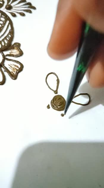 #mehndi #floral #tutorialvideo