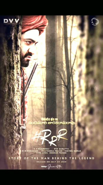 #RRRMovie New Poster