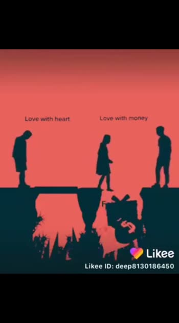 love with heart  or love with money