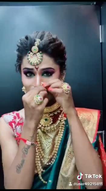 #bridal-makeup #bridal-jewellery #bride #roposostar #roposobeauty