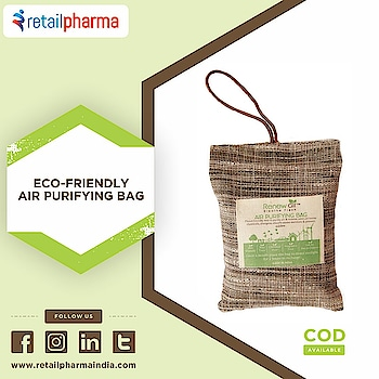 Renew Air Activated Coconut Charcoal Natural Pet Safe Air Purifier - 100 Gram  Shop now-https://bit.ly/2kzJmeY  RenewAir Purifier Bag is an eco-friendly Air Purifying Bag which is a natural way to purify air making it safer for pets and the family. Animals and birds are more vulnerable to air pollution.   #AirPurifier #PetSafeAirPurifier #Airpurifierforpets #Bestairpurifierforpetodors #PetCare #Retailpharma